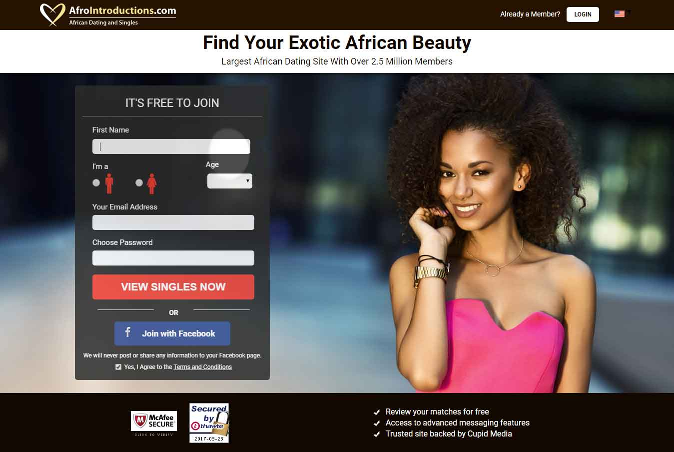 Afro introduction dating